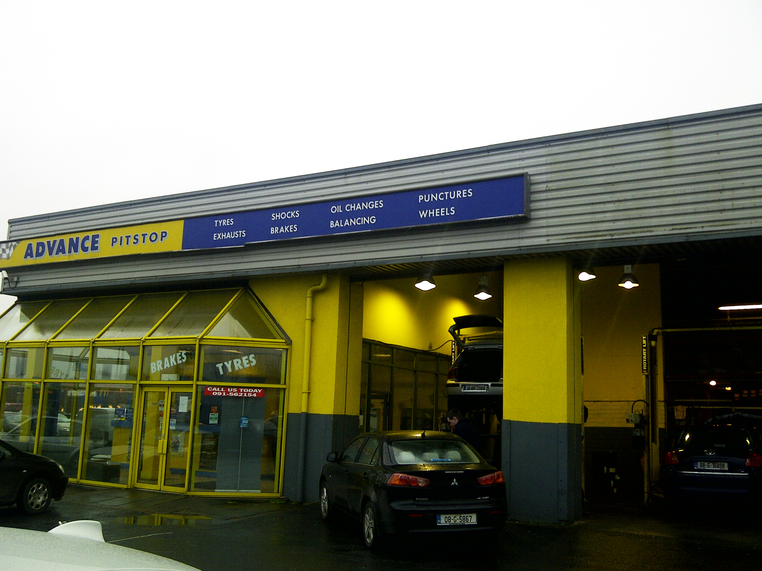 Advance Pitstop Galway Headford Road Car Servicing
